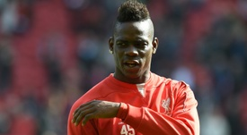 Y la profecía de Balotelli sobre el Liverpool... se cumplió. AFP