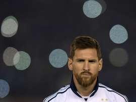 Lionel Messi peut emmener l'Argentine loin. AFP