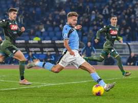 Napoli are struggling. AFP