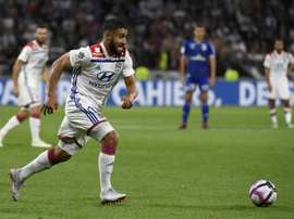 Fekir is back. AFP