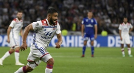 Fekir was very close to a move to Liverpool. AFP