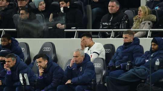Dier loses cool as Spurs slide and Mourinho struggles. AFP