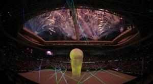 Qatar opened a brand new World Cup stadium on Thursday. AFP