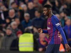 Dembélé demande au Barça de se méfier. AFP