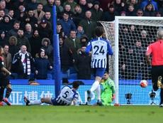 Crystal Palace won 1-0. AFP