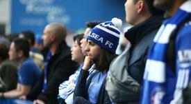 El Chelsea no ha tardado en tomar medidas. AFP/Archivo