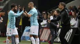 El Lyon, a por Slimani... ¿como sustituto de Depay? AFP