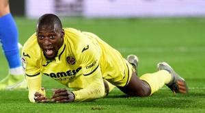 Lyon have paid four million euros for Ekambi on loan. AFP