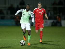 Ndidi is expected to be ready for the World Cup. AFP