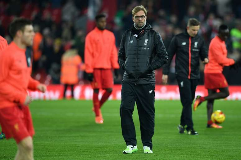 Klopp believes that Liverpool benefit from not playing European football. AFP