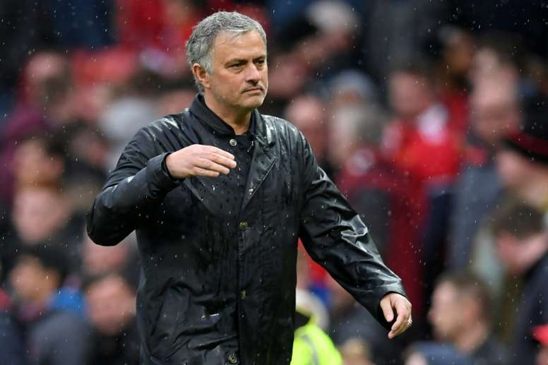 Mourinho's side have looked out of shape. AFP