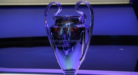 Champions League group stage draw. AFP