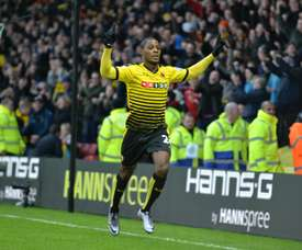 Odion Ighalo has joined Chinese side Changchun Yatai from Watford. AFP