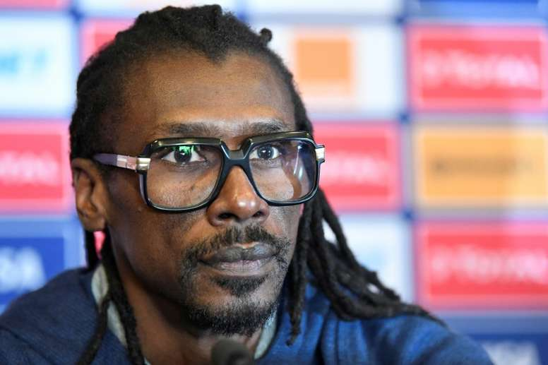 Aliou Cisse is hoping Senegal go all the way this year. AFP