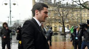 Adam Johnson issues public apology. AFP