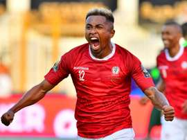 Lalaina Nomenjanahary scored to lead his national team as top of the group. AFP