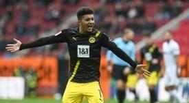 Sancho, un exemple pour les jeunes de Dortmund. AFP