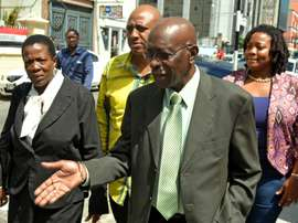 Former FIFA vice-president Jack Warner arrives at the Port-of-Spain Magistrates court for the extradition hearing against him, on September 25, 2015