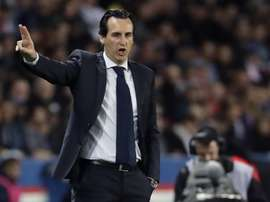 Unai Emery will put faith in his academy players. AFP