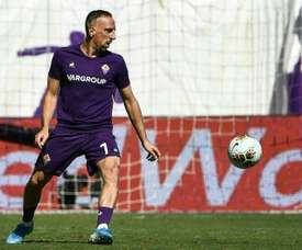 Fiorentina's Ribery will be back in March after ankle surgery. AFP