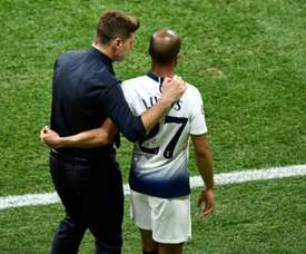 Lucas Moura was left on the bench for the first half of the Champions League final. AFP