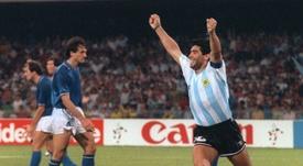 Le gouvernement argentin décrète trois joueurs de deuil national. afp