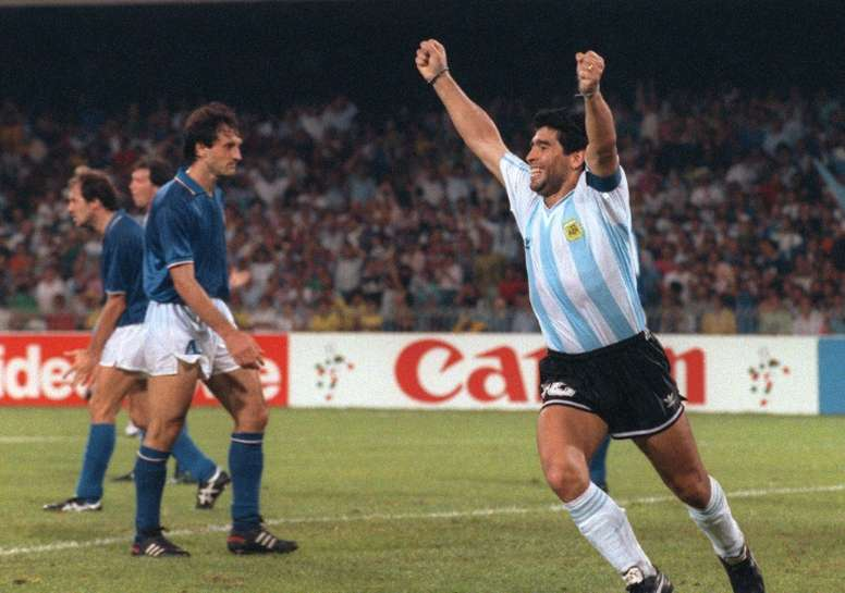 There were plenty of special days in Diego Maradona's life. AFP
