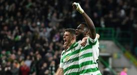 O Celtic continua brilhando na Premiership escocesa. AFP