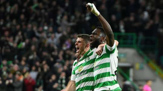 Celtic won 2-0. AFP