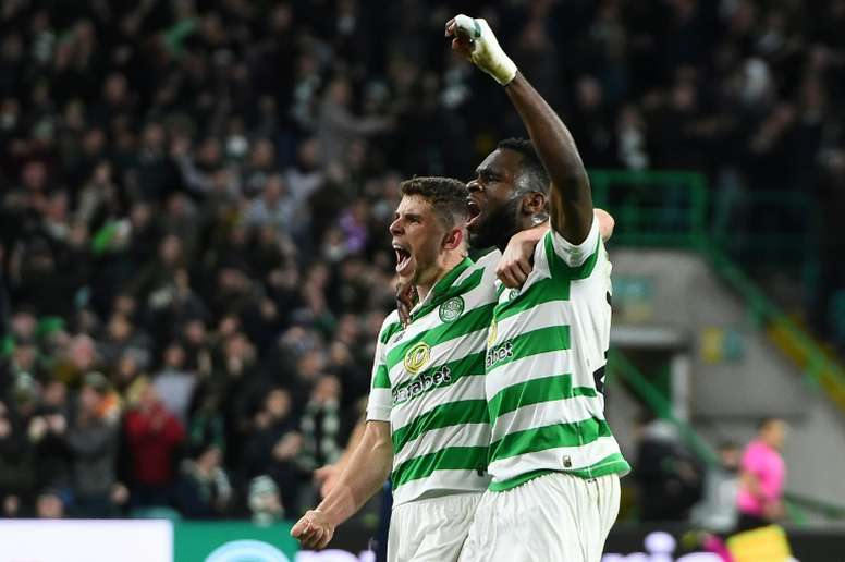 El Celtic sigue a lo suyo en la Premiership escocesa. AFP/Archivo