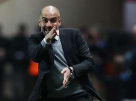 Guardiola parece ter intenção num jogador do Real Madrid. AFP