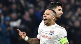 Memphis suena para reforzar al Milan en verano. AFP/Archivo