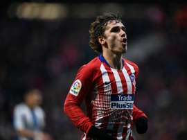 Griezmann scored from the spot. AFP