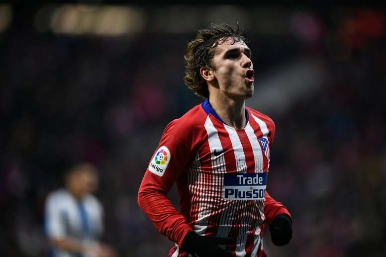 Antoine Griezmann looks to be on his way to joining Barcelona. AFP