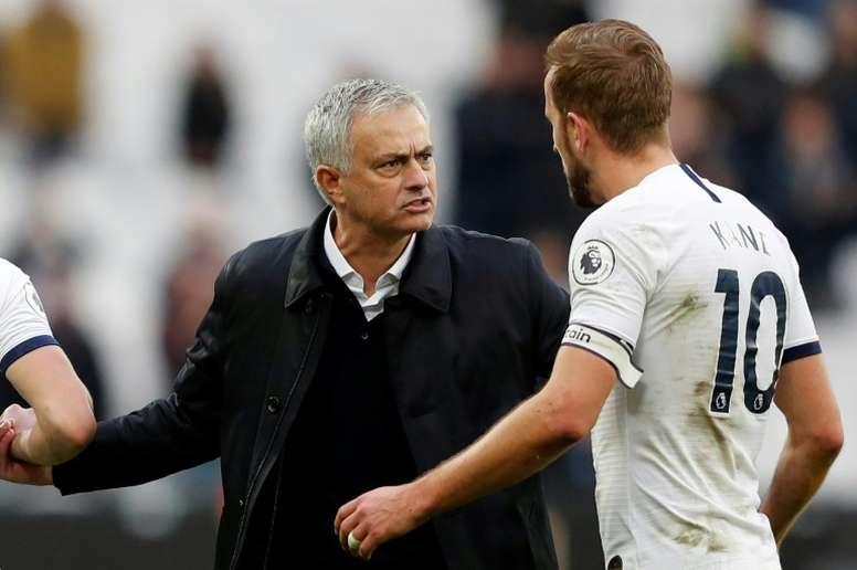 Neville spoke about Mourinho signing for Tottenham. AFP