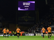VAR denies Wolves as Leicester's Choudhury sees red. AFP