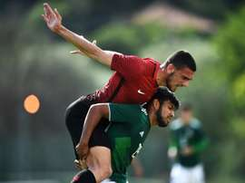 Demiral has cost Juventus 18 million Euros. AFP