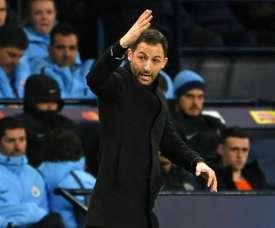 Schalke went down 7-0 to Manchester City. AFP