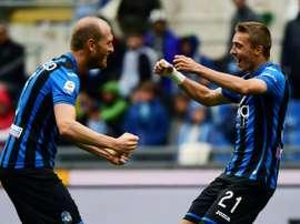 Atalanta move closer to a CL spot after win over Lazio. AFP
