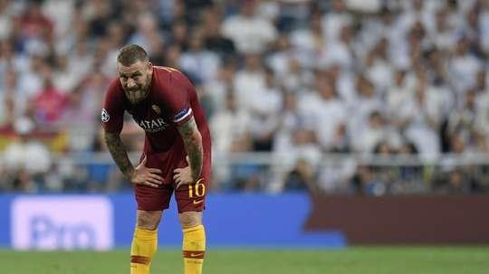 De Rossi pourrait quitter la Roma. AFP