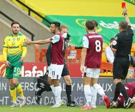 Burnley won 2-0. AFP