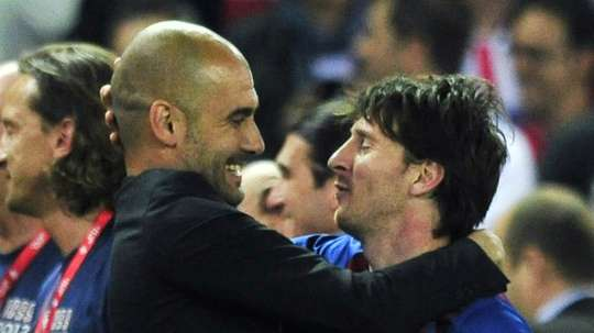 City will try for Messi in January. AFP