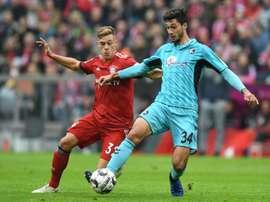 Kimmich admite que não ficará para sempre no Bayern. AFP