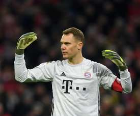 Neuer signs new Bayern deal until 2023. AFP