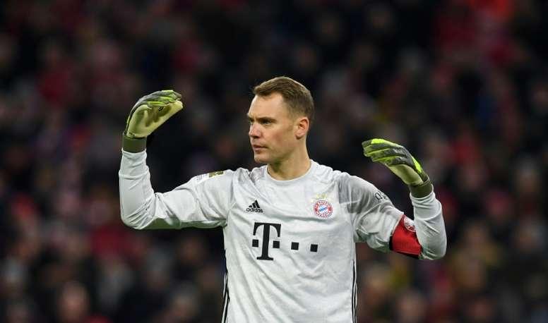 Neuer fait polémique en chantant un chant jugé fasciste. AFP