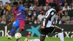 Ansu Fati casi duplica los goles de Messi a su edad