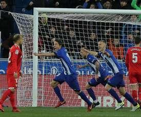 Sevilla let Madrid off hook with Alaves defeat. AFP