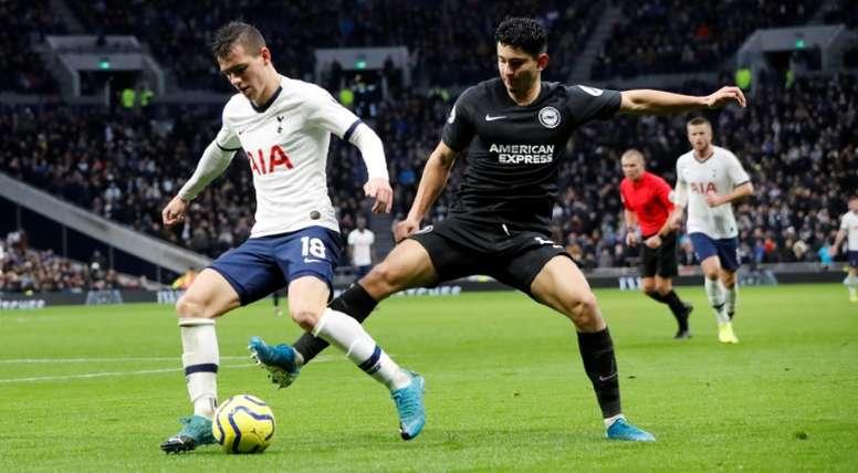 El Tottenham quiere pagar ya por Lo Celso. AFP