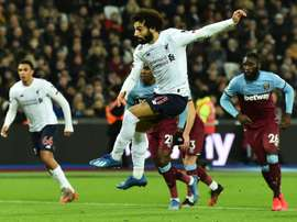Salah scored as Liverpool won yet another Premier League game. AFP