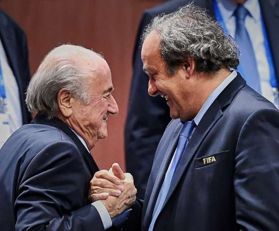 Sepp Blatter's payment of two million euros to Platini is still being investigated. AFP